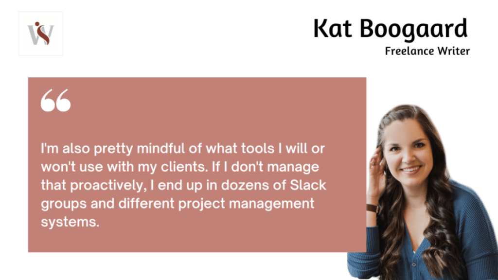 Kat Boogaard on remote work and client management