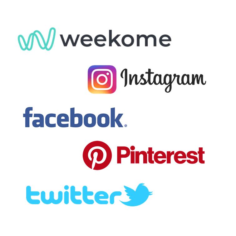 Des réseaux sociaux-Weekome