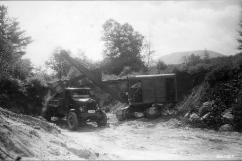 1950s Construction Of The Kancamagus Highway Weeks Act