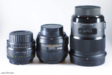50mm Objektive für Nikon-