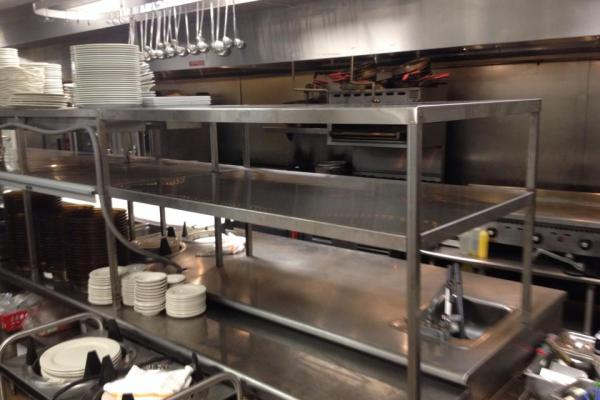 Weeks Machine creates some stainless steel for Plantation Golf and Country Club