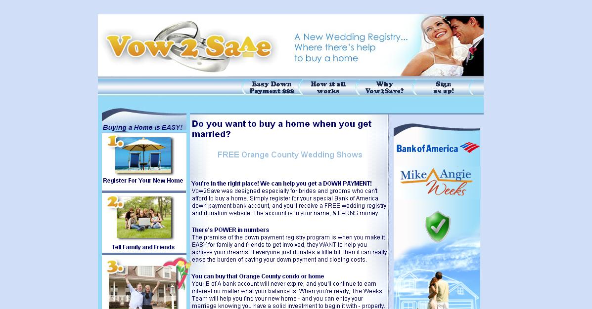 Vow2Save Orange County Real Estate Registry