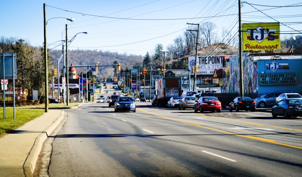 """The """"Gateway from the West"""" to the Woodsdale section of Wheeling has always been National Road, but the businesses lining the historic roadway have changed frequently since the 1970s."""
