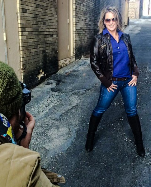 Connors met Wheeling photographer Bennett McKinley in an alley in downtown Wheeling.