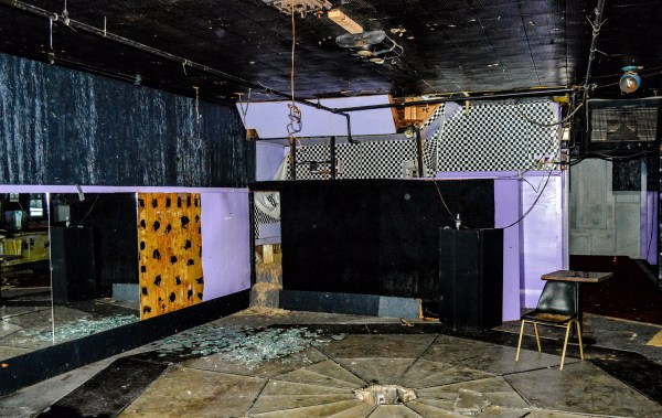 The disco dance floor was often the most crowded floor at the Tin Pan Alley.