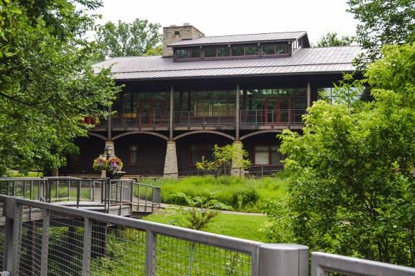 The Schrader Environmental Education Center in Oglebay Park.