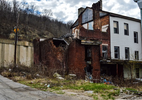 This South Wheeling property has been in this condition for more than a decade.