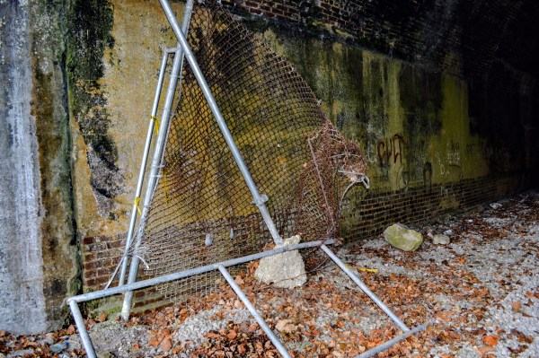 City workers have placed barriers at the tunnel's entrances, but vandals have ripped them away.