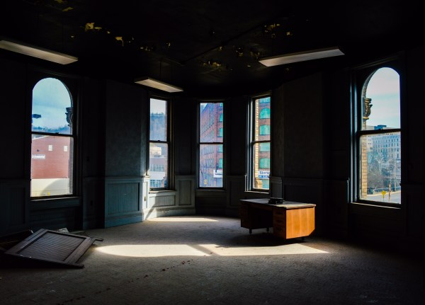 Commercial space will be available on the first two floors of the Flatiron Building, and residential units will be located on the three floors above.