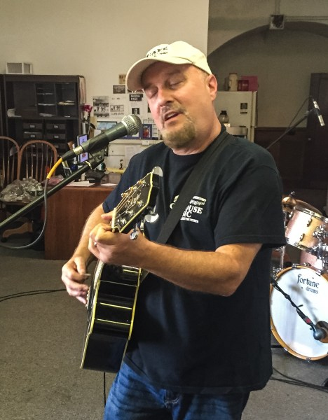 """Local musician Gregg Molnar played in two bands during, """"Thrills in the Hills."""""""