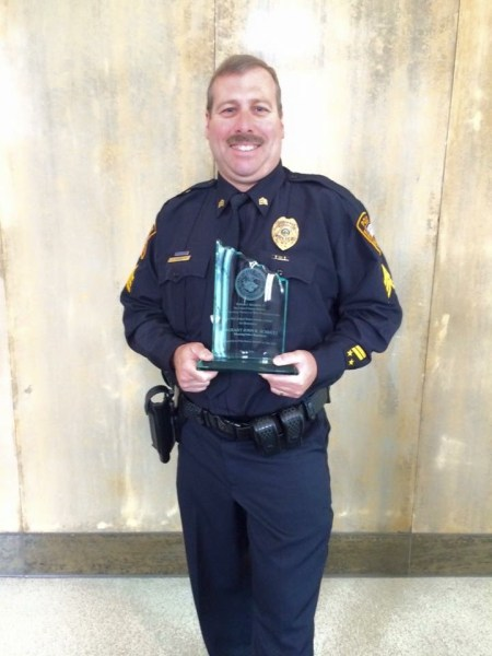 For a second time in his distinguished career, Sgt. John Schultz was honored with the Prevention Officer of the Year Award in August.