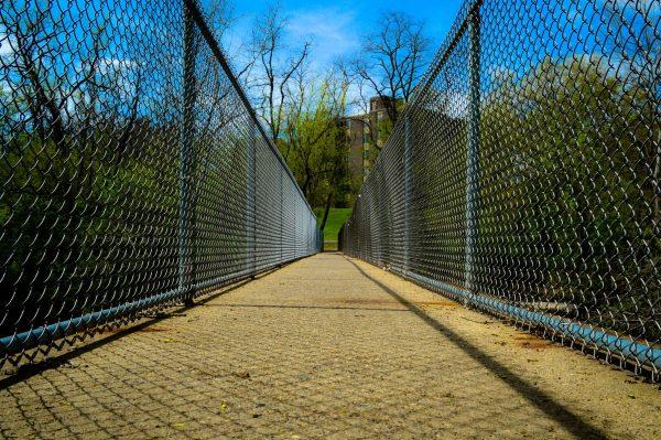 Pleasanton foot bridge