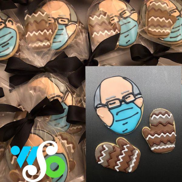 Bernie Sanders Cookies