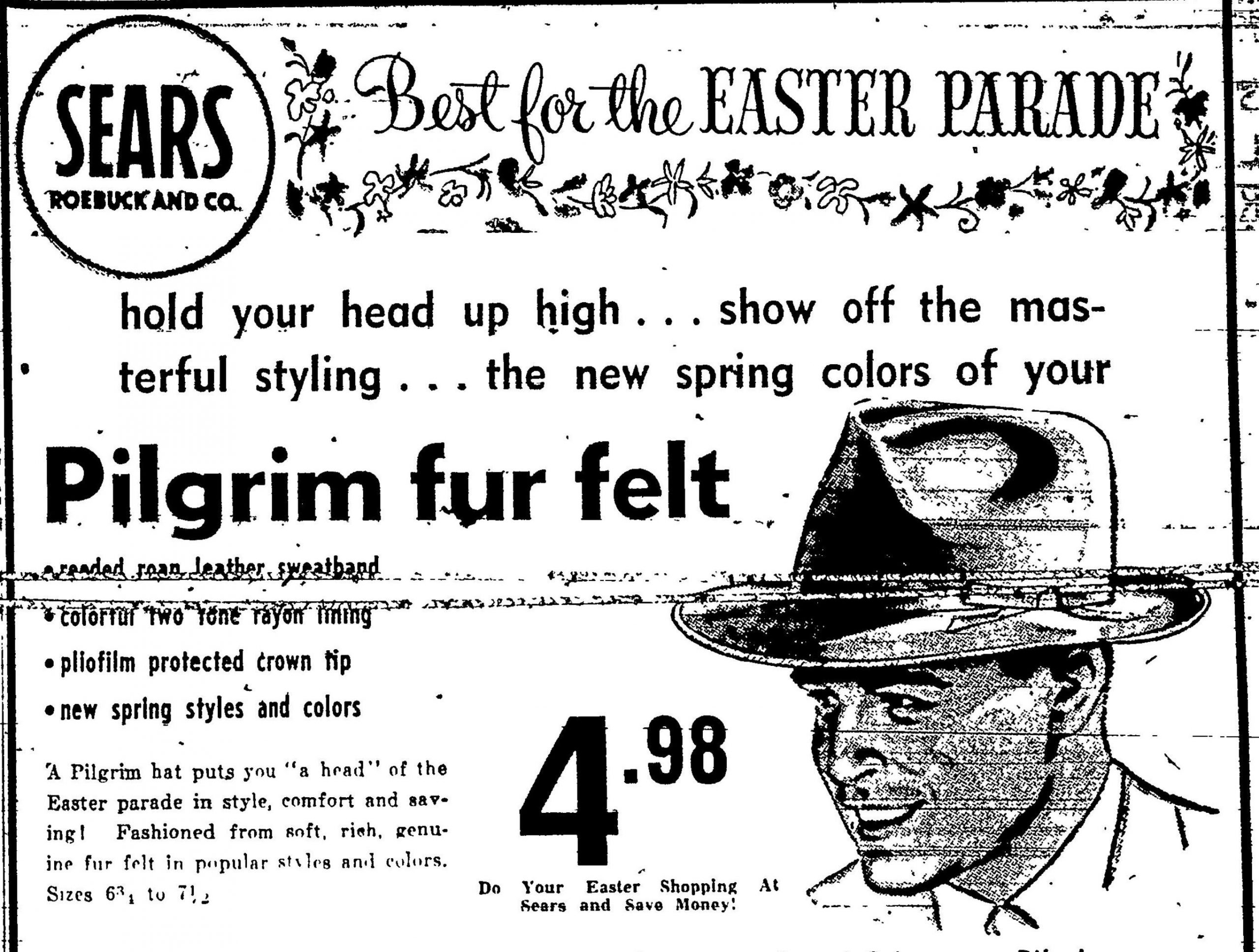 Sears Roebuck and Co. - Wheeling Intelligencer, March 23, 1951