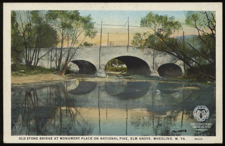 Post card of the Old Stone Bridge