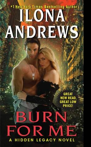 Buddy Review: Burn for Me by Ilona Andrews