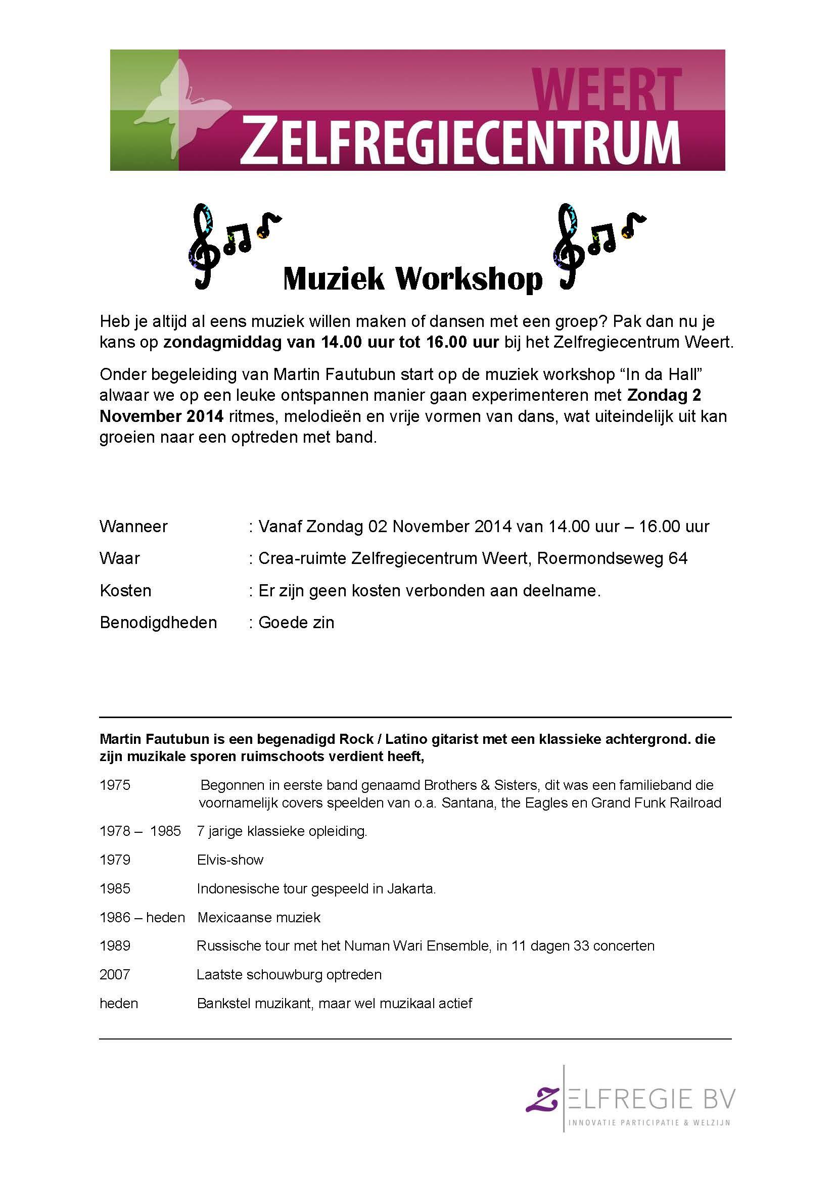 Muziek Workshop_nov14