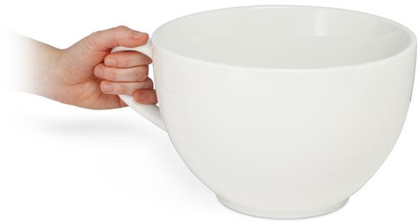 OerHoop Huge Coffee Cup