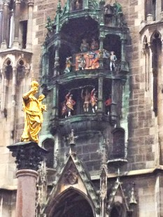 Close-up on the Glockenspiel