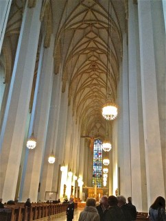 The main nave