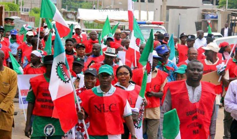 BREAKING!! No Going Back On Tomorrow's Strike, We Will Make Sure Every Ministry Is Shut Down — NLC,TUC Vow
