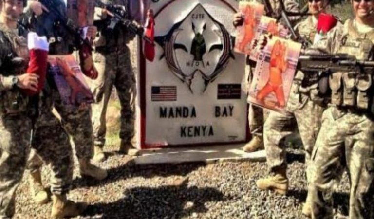 Suspected terrorists attack US-Kenya military base, leaves scores dead