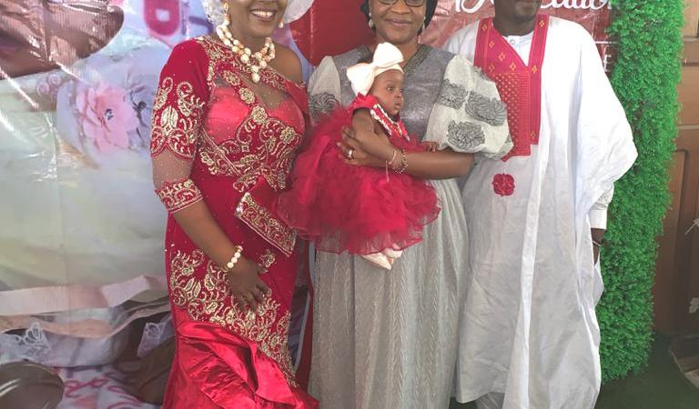 Linda Ayade, Omotunde Ivara Esu, Eteng Jones, others attend Helen Isamoh's Child Dedication Ceremony (Photos)