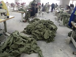 Cross River Garment Factory receives order to produce 8,000 pairs of NYSC uniforms in 8-days