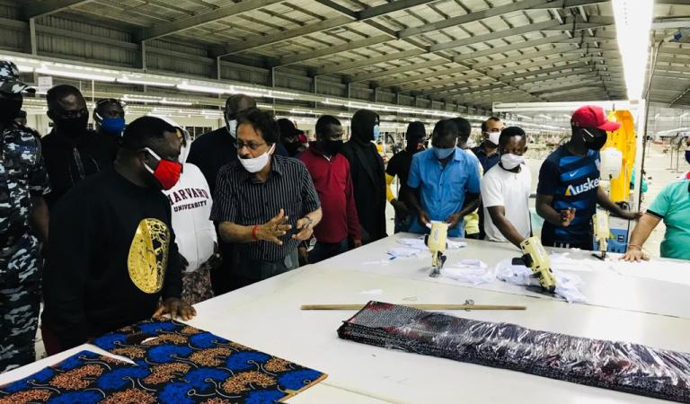 C/River Govt Approves Two Million Dollars For Procurement Of Garment Factory Items