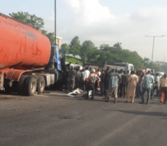 Just In : Many feared dead as  fatal accident occurred on  Otedola bridge in Lagos