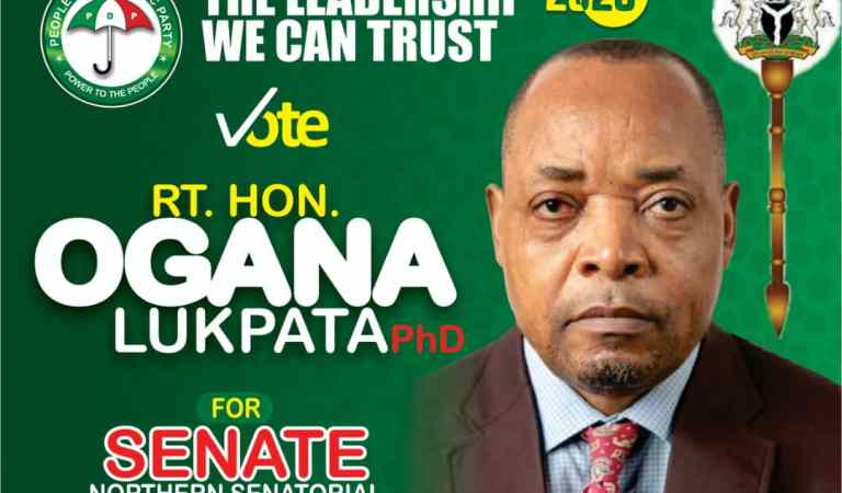 C/River North 2020: Lukpata Seeks For More Support To Reposition Senatorial District