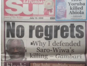 BREAKING!! Buhari New Chief Of Staff Lands In Big Trouble As More Revelations Shows How He Openly Supported The Killing Of Ken Saro-Wiwa