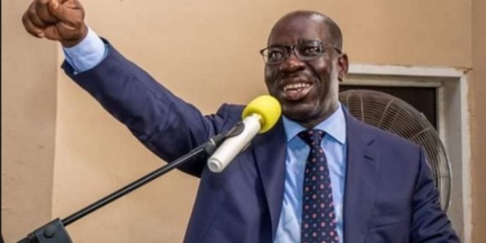 BREAKING! Obaseki Defeats Oshiomhole and Ize-Iyamu Put Together, Wins Certificate Forgery Case