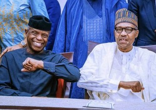 Thank You For Making Nigeria Proud — Buhari Tells Osinbajo