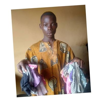 16-Year-Old Boy Caught With 14 Female Panties, Arrested In Ogun (Photo)
