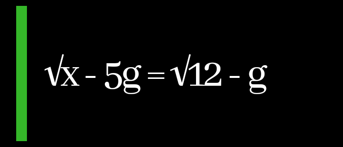 """ALL THE MATH GURUS GATHER HERE !! Make """"x"""" The Subject Of This Formula (SEE EQUATION)"""