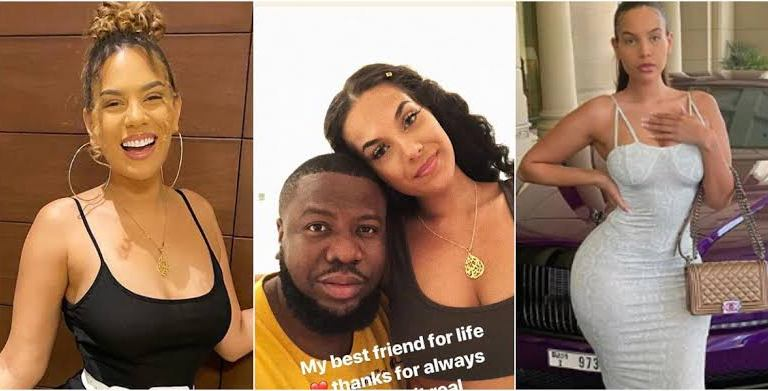 FEAR WOMEN O!! Hushpuppi's Girlfriend, Amirah Dyme Flaunt Her New Lover Online After She Once Said Hushpuppi Is Her 'Best Friend For Life' (Photos)