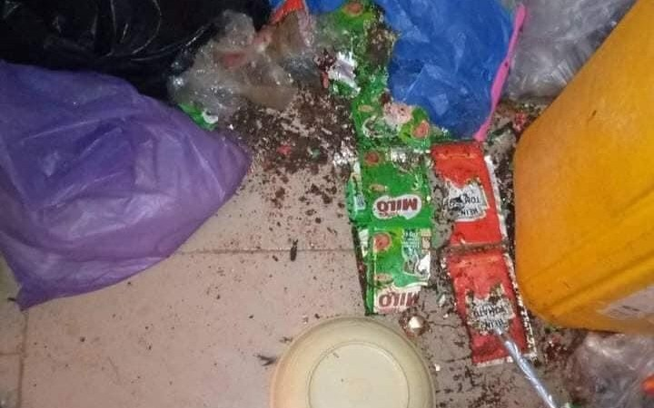 Rats Destroy ABSU Student's Property During Lockdown (Photos)