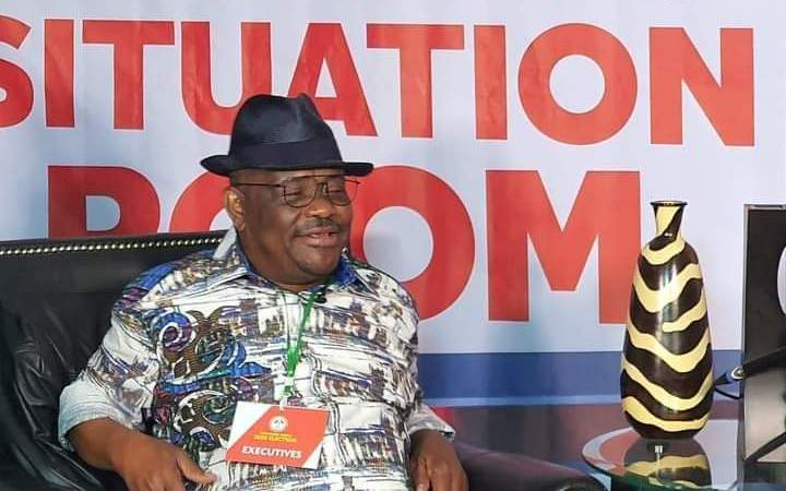 EdoDecides: Wike Spent Night In PDP Situation Room Where He Maintains Night Watch on The Results | Live Updates | Official Results