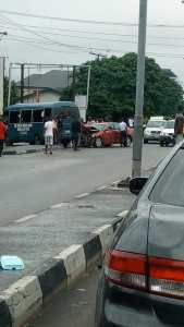 JUST NOW!! Photos of Terrible Accident In Calabar This Afternoon