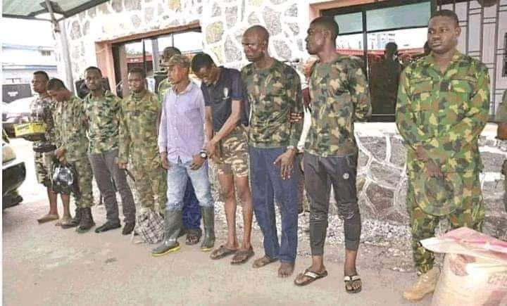 Faces of Military Officers Who Open Fire At Lekki Toll Gate  Protesters (Photos)