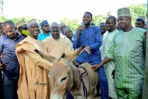 Governor's Aide Distributes Donkeys To Empower Youth In Kano