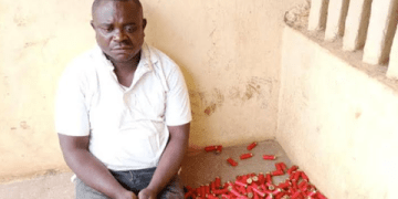 Police Nabs A Suspected Gunrunner In Cross River