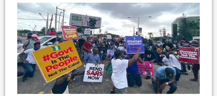 HAPPENING LIVE!!  Fresh #EndSars Protest Hits Nigeria As Protesters Storm National Assembly