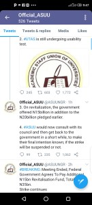 BREAKING!! Hope Returns To Nigerian Students As FG, ASUU Sealed Agreement