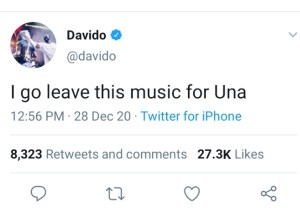 BREAKING!! Davido Consider Quitting Music After He Exchange Blow With Burna Boy In A Club In Ghana