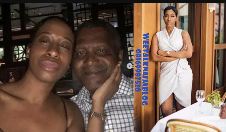Dangote Broke My Heart In 1000 Pieces — American Lady Who Dated Nigerian Richest Man Opens Up