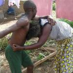 Confusion As Woman Who Was Beaten By Her Husband Went To Report To Her Pastor But Met The Pastor Beating His Wife - See What She Did Next