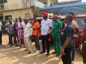 Mother of All Empowerment As Gershom Bassey Takes Distribution of Tricycles To Bakassi LGA and Other Groups
