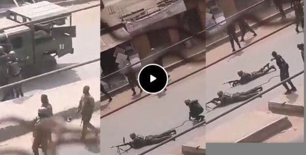 BREAKING!! Heavy Shooting Currently Going On In Imo As Nigerian Army Engage In Gun Battle With Nnamdi Kanu's Eastern Security Network